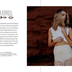 Lookbook for Xanadu the Label