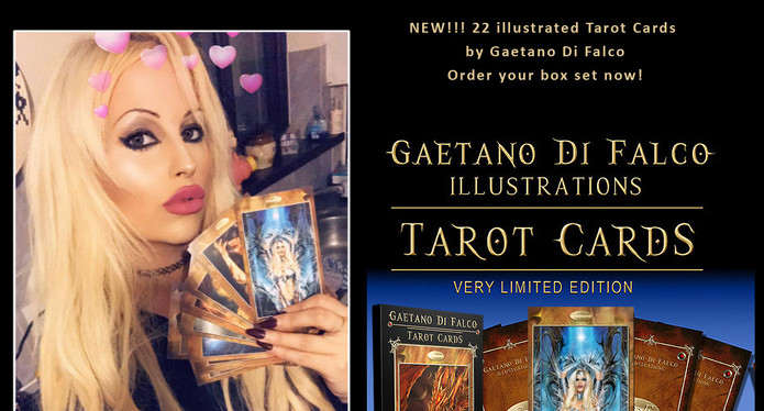 The Star card featuring Kat Del Giudice as Model