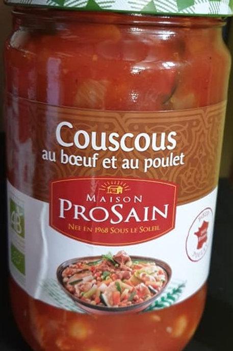 Couscous bœuf et poulet 680g