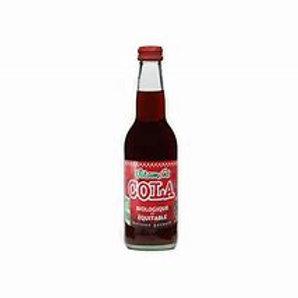 Cola bio équitable sans caféine 330ml
