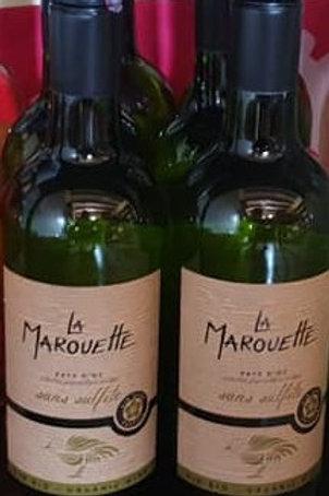 Vin blanc de pays d'oc sans sulfites 75cl