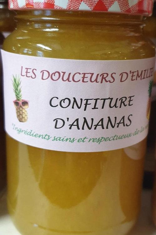 Confiture d'ananas 210g