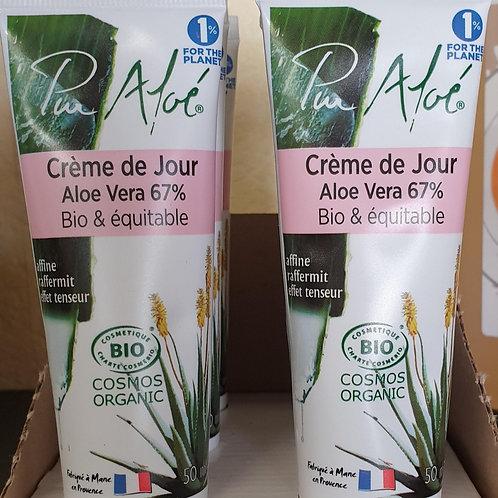 Crème de jour Aloe Vera 67%