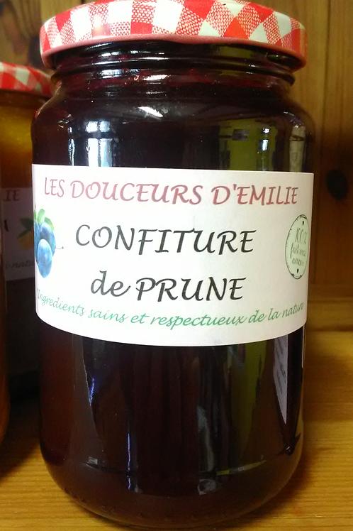 Confiture de prunes 410g