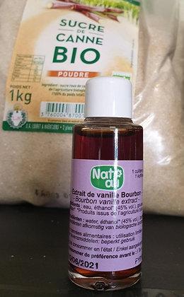 Extrait de vanille Bourbon 15ml