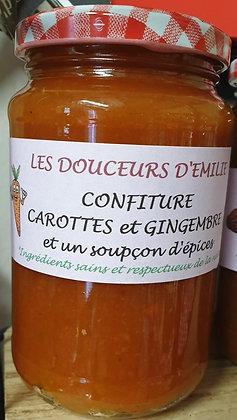 Confiture carottes et gingembre 410g