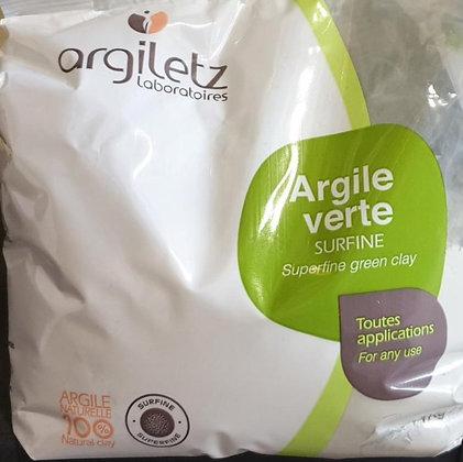 Argile verte surfine 1kg
