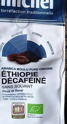 Café décaféiné sans solvants 250g.