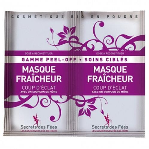 Masque peel-off fraîcheur (2x8g)