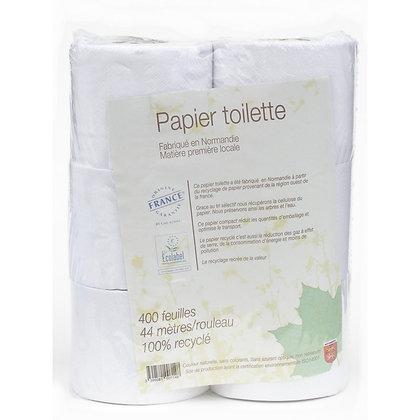 Papier toilettes recyclé 6 rouleaux