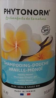 Shampoing douche vanille/monoï 1l