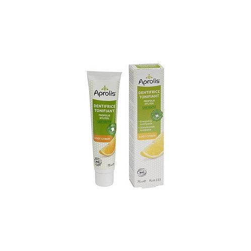 Dentifrice tonifiant propolis goût citron 75ml.