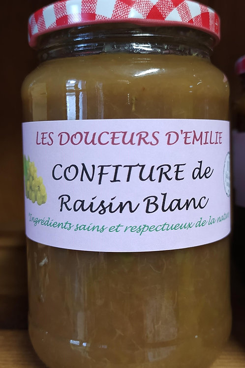 Confiture de raisin blanc 410g