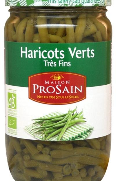 Haricots verts très fins 660g