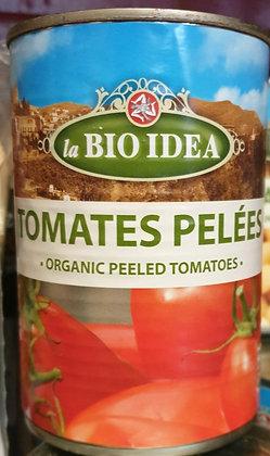Tomates pelées 400g