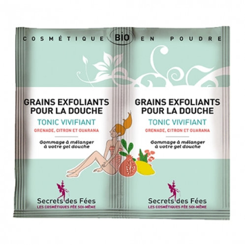 Grains exfoliants pour la douche (2x2.5g)