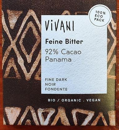 Chocolat noir 92% au sucre de coco