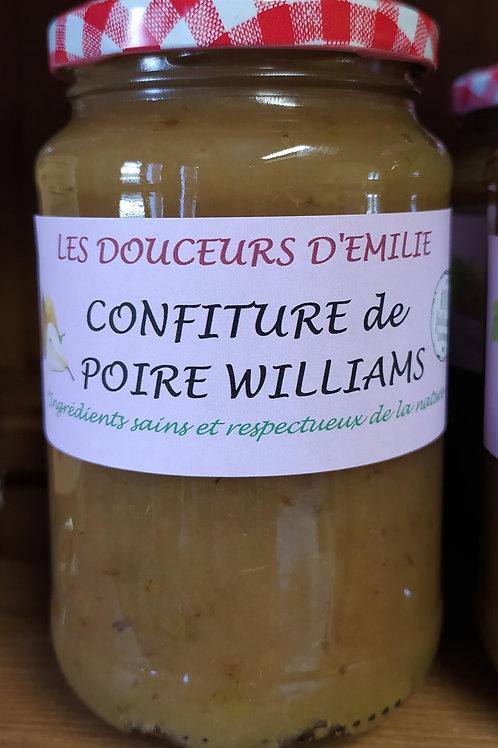 Confiture de poire Williams
