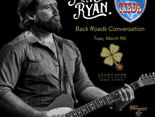 "Mike Ryan Up Next for ""Back Roads Conversations""."