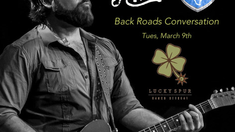 """Mike Ryan Up Next for """"Back Roads Conversations""""."""