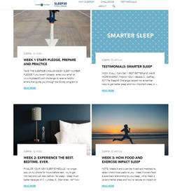 Sleep30 website