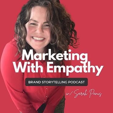 Marketing With Empathy Podcast Thumbnail