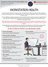 WORKSTATION HEALTH - ERGONOMICS FACT SHE