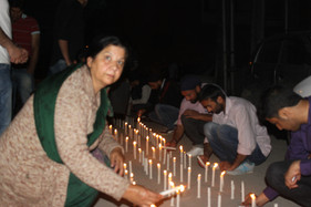 Candle Light Protest