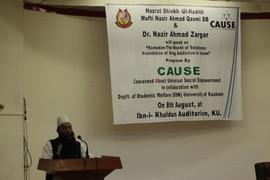 Mufti Nazir Sb on Drug Abuse