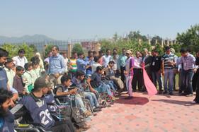 Wheelchair Marathon Programmer for differenty abled