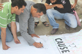 Signature campaign ,Awareness Programmer on Drug Abuse