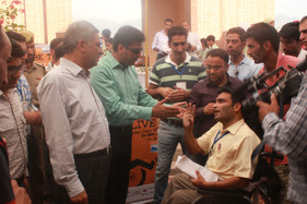J&K bank Chair and Director Tourism JK at Price ceremony