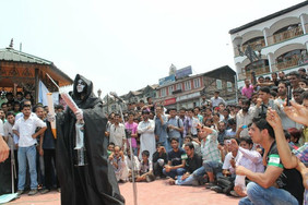 1st every Street Play at  lal chowk