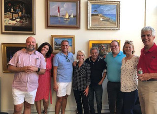H. Hargrove Artist reception for Monmouth Arts