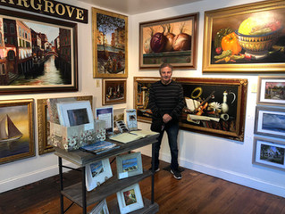 H. Hargrove Fine Art Show Room Opening May 1, 2019 at The Urban Schack Artisan Shoppes