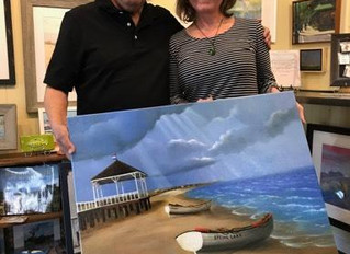 H. Hargrove at Jersey Shore Moments Gallery in Manasquan