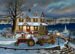 Christmas in Lake George