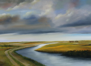 Big Sky Country-Two new paintings        by H. Hargrove