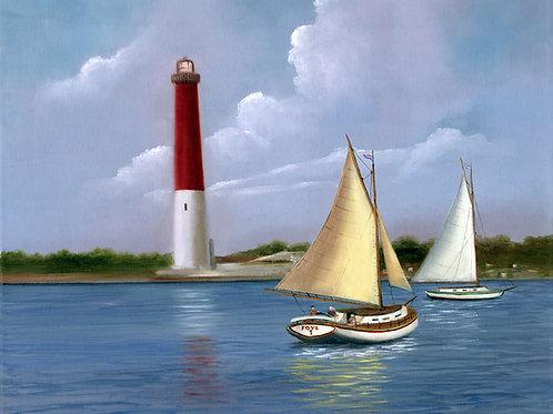 Old Barney Barnegat Lighthouse
