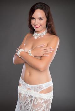 White lace skirt lingerie