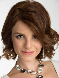 Headshot of brunette woman with necklace - Medford photographer, John Neilson
