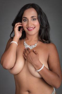 Implied with jewelry