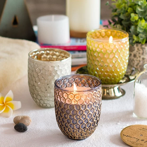 Sunrise Honeycomb Jar