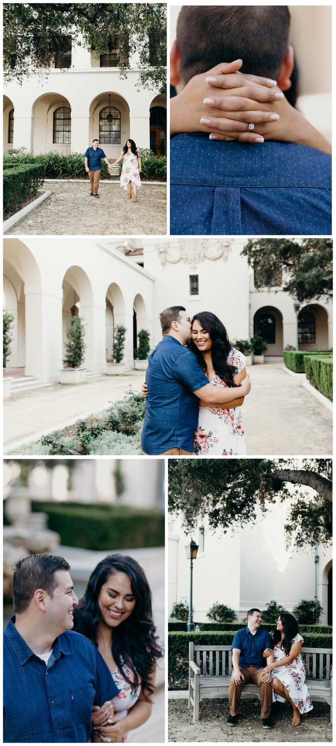 Pasadena City Hall & Echo Mountain Engagement Session: J and Mondo