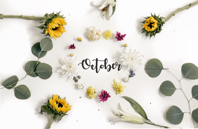 Happy October & Fall Freebies