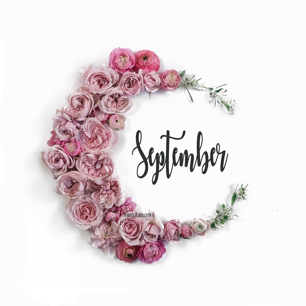September calendar flowers