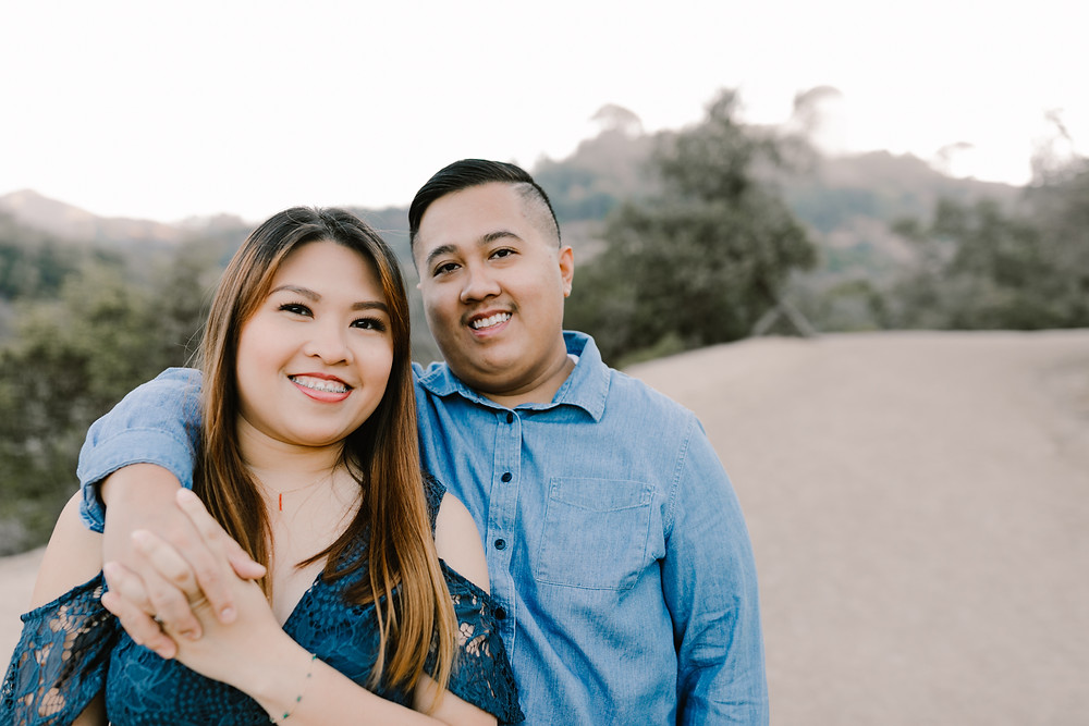 Griffith park engagement shoot