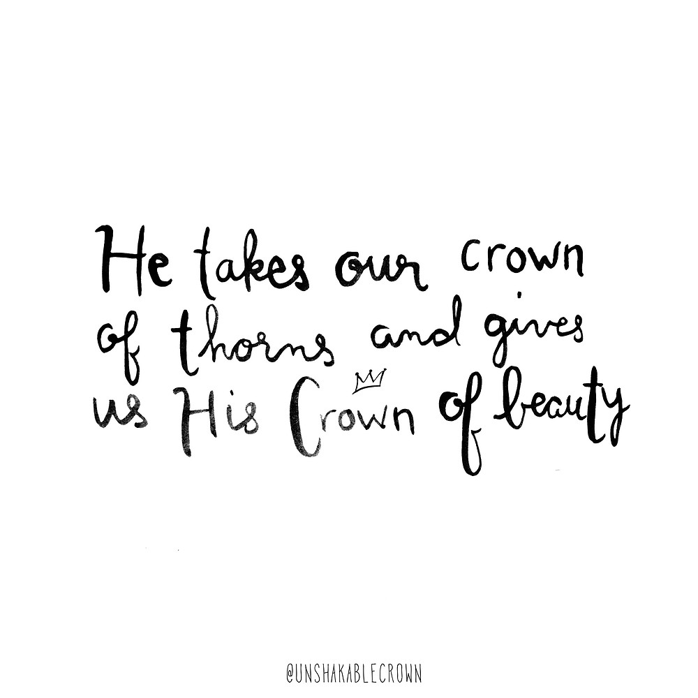 Crown of beauty