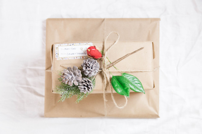 Brown Paper Packages Tied...