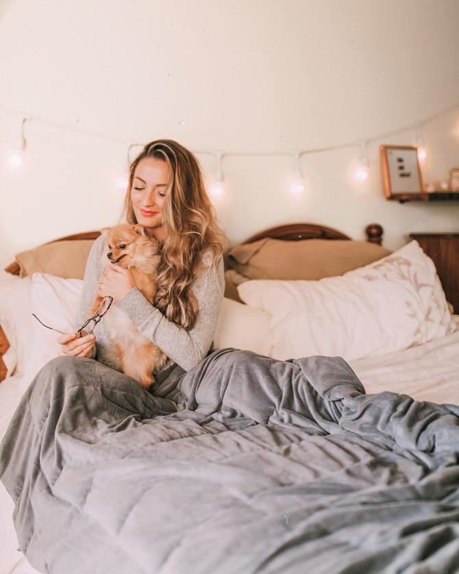 Calming Comfort Helps Me Sleep Better